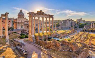 Ausflugs zum Forum Romanum