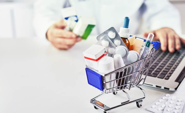 Bestellungen in Online-Apotheken