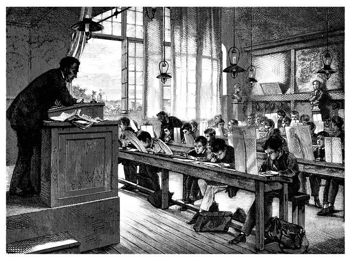 ntwicklung der Bildungstheorie im 19. Jahrhundert