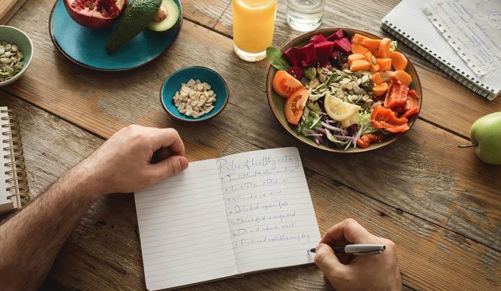 Ernährungstagebuch bei Histaminintoleranz
