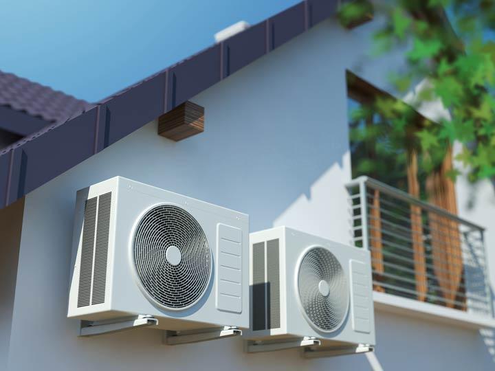 Fest installierte Klimaanlagen