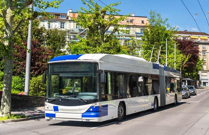 Öffentliche Verkehrsmittel in der Schweiz
