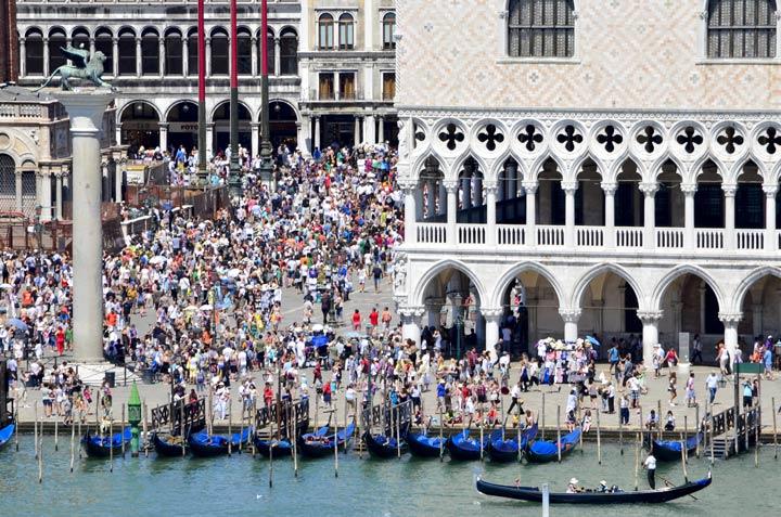 Overtourism in Venedig