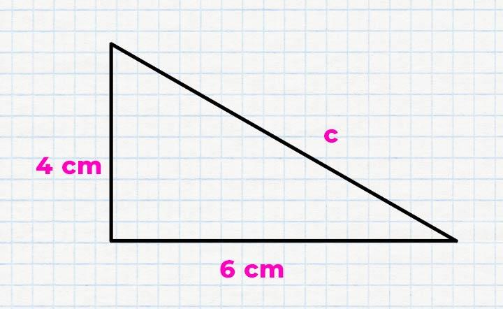 Rechenbeispiel - Satz des Pythagoras