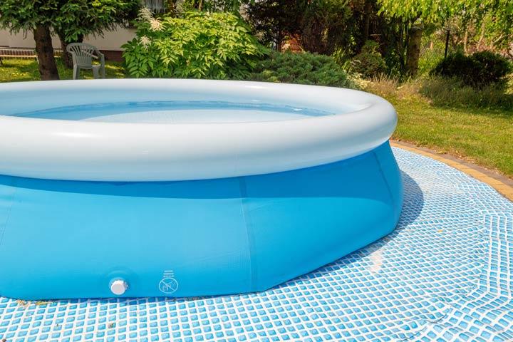 Starke wasserdichte Folie beim Quick-Up-Pool