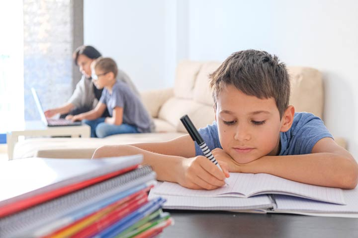 Unterstützung beim Lernen durch die Eltern variiert
